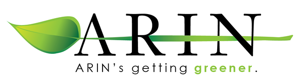 Logo for Green Initiatives at ARIN
