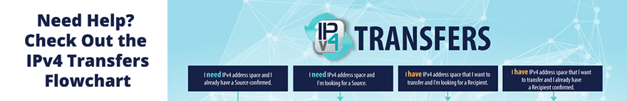 Need Help? Check Out the IPv4 Transfers Flowchart
